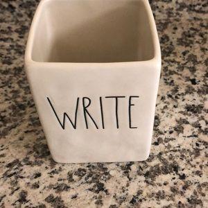 Rae Dunn WRITE